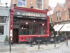 Grogan's Castle Lounge - classic pub with literary bent.  Dublin, Ireland