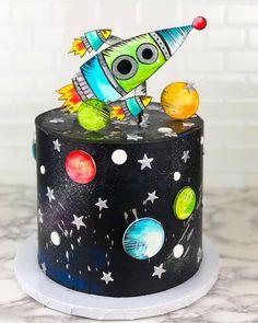 Planet star cake
