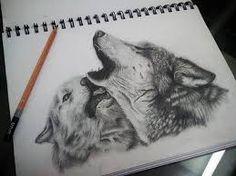214 Mejores Imágenes De Dibujos De Lobos Drawings Fantasy Wolf Y