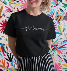 GIRLMOM HANDWRITTEN STYLE - Organic Shirt – FAMILY BY HEART Organic, Heart, T Shirt, Tops, Women, Style, Fashion, Family Shirts, Cotton