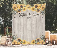 Sunflower Wedding Decoration Barn Wedding Decor Country | Etsy