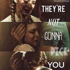 Hunger Games Quote / Prim / Katniss