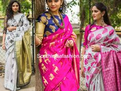 Image result for kanjeevaram saree designers