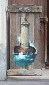 Resultado de imagem para painted driftwood