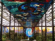 Cosmovitral: Mexico's Amazing Stained Glass Botanical Garden ~ Kuriositas
