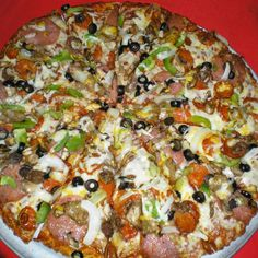 Mr. Pizza Man Special Pizza - Mr Pizza Man - Zmenu, The Most Comprehensive Menu With Photos