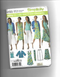 Simplicity 4193 by CraftingMoose on Etsy