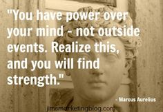 Power over your mind #quote