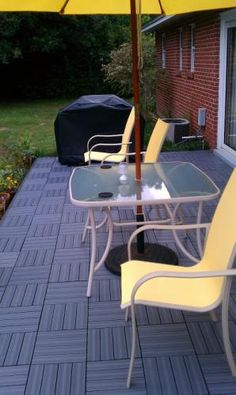 EcoTrend - 12x12 Inch Deck & Balcony Tile (pack of 6) - MT5100012 ...