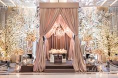 Stunning Cherry Blossom Wedding At The Four Seasons Hotel - Rachel A. Clingen Wedding Design and Decor