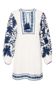 Salma Peasant Dress by TALITHA for Preorder on Moda Operandi