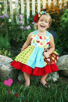 Twirly dress pdf pattern