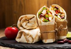 Turkey burrito - http://recipesfinder.com/recipes-category/appetizers-first-dishes-main-dishes-side-dishes-sweet-and-desserts-unique-dishes-tasty-recipes.php?id=2352