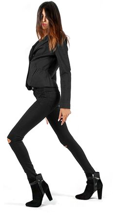 New Collection Mariamare F/W Black Jeans, Fall Winter, Pants, Collection, Fashion, Moda, Trousers, Fashion Styles, Women Pants