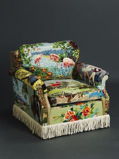 Suzie Stanfords Tapestry Chairs