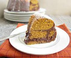 Gateau vegan à la citrouille et au chocolat sans gluten Gluten free chocolate and pumpkin vegan cake