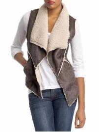 Shearling vest - sort of like mine