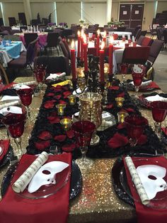 Phantom of the opera table