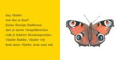 Elly van der Linden - Versje vlinder Moth, Bee, School, Google, Everything, Bees