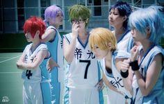 Kuroko no basket cosplay team basketball uniform