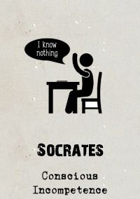 Socrates' aphorism 'I know one thing: that I know nothing' epitomises what has become known as the 'Socratic Method' (exemplified in Plato's Dialogues). This demands we assume nothing but question everything so that we can discern the true meaning of...