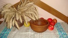 Handturned Wooden Salad Bowl Home and Living by SteelWoodStoneSWS
