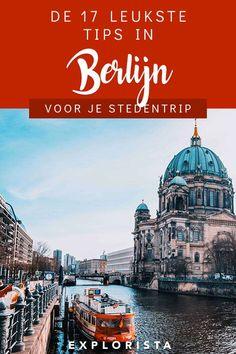 Een stedentrip die niet lang genoeg kan duren is er eentje naar Berlijn. Er is veel te ontdekken in deze Duitse stad. Deze 17 tips mag je niet overslaan tijdens je bezoek. #stedentrip #berlijn #doeninberlijn Dutch, Taj Mahal, Berlin, Travel Tips, Germany, World, Austria, Building, Europe