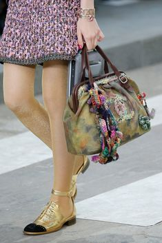 Runway Edition Chanel Graffiti on the Pavements Bowling Bag - Preorder now on Moda Operandi
