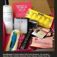 #popsugar #musthave #march box
