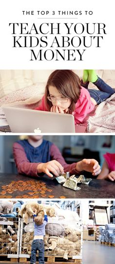 The Only 3 Things You Need to Teach Your Children About Money via @PureWow