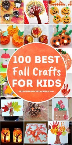 Get crafty this autumn with these fun and easy fall crafts for kids of all ages. From crafts for toddlers to crafts for elementary school children, there are plenty of DIY fall craft ideas for children to choose from. Halloween Crafts For Toddlers, Thanksgiving Crafts For Kids, Halloween Activities, Autumn Activities, Toddler Crafts, Diy Crafts For Kids, Holiday Crafts, Fun Crafts, Craft Ideas