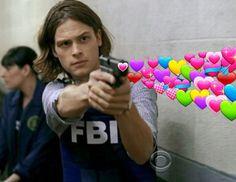 Criminal Minds Memes, Spencer Reid Criminal Minds, Dr Spencer Reid, Crimal Minds, Casting Pics, Matthew Gray Gubler, Fb Memes, Stupid Memes, Mood Pics