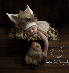 Where the Wild Things Are Themed Newborn Photo Session with Sipi   Jennifer Farris Photography   as seen on GiggleHearts.com