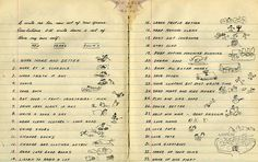 Woody Guthrie's 1942 New Year's Resolutions. Larger version: http://4.bp.blogspot.com/-5PLh3OVAny0/UsH4bDKmMZI/AAAAAAAAJ1Y/ZaHEG4kNM3k/s1600/woody.png