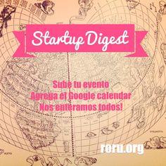 Startuo Digest un calendario colectivo en Monterrey http://roru.org/
