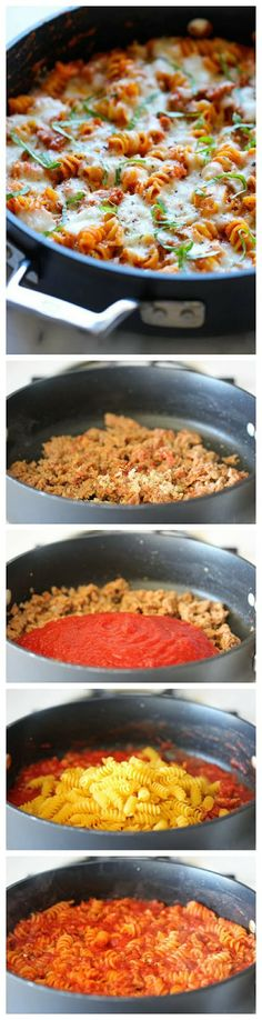 How To One Pot Baked Ziti