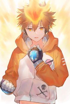 Otaku Anime, Anime Guys, Manga Anime, Anime Art, Cute Anime Character, Character Art, Character Design, Reborn Katekyo Hitman, Hitman Reborn