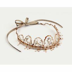 Wood-woven faerie tiara...