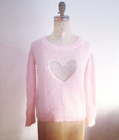 Second Life See Thru My Heart Sweater