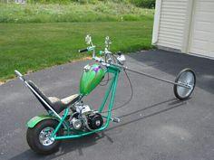 Mini Chopper Motorcycle, Mini Motorbike, Chopper Bike, Motorcycle Bike, Custom Mini Bike, Custom Bikes, Motorised Bike, Solar Car, Pocket Bike