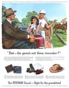 Stetson - 19470421 Life. Miklomania · Hat Club · Vintage Dickies Ad Men ... c6da5c9a327d