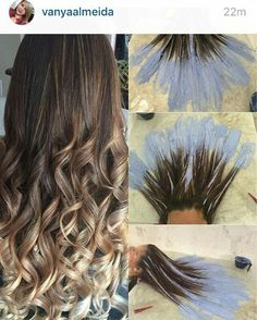 Fluid hair painting my work pinterest hair hair for Fluid hair painting