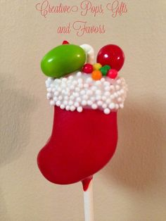 Cute Christmas Cake Pops Check out www. :) by sealedbysanta Read Christmas Cake Pops, Christmas Sweets, Christmas Cooking, Noel Christmas, Christmas Goodies, All Things Christmas, Cake Pop Designs, Cookie Pops, Brownie Pops