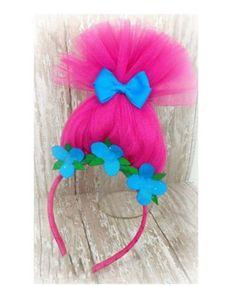 Cartoon Trolls Poppy Princess Vest Dress Cosplay Costume Party Skirt Girls Gift | eBay