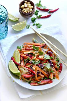 Raw Pad Thai from The Choosing Raw Cookbook (gluten-free, vegan, raw)