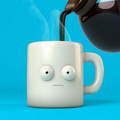 Coffee? on Behance