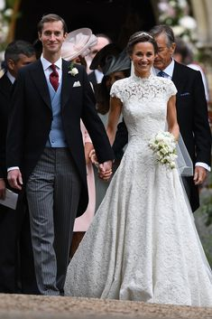 Giles Deacon Designed Pippa Middleton's Wedding Dress