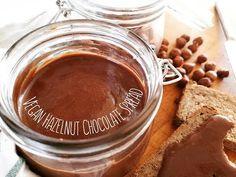 Vegan Hazelnut Chocolate – Beets me Chocolate Hazelnut, Chocolate Fondue, Sweet Cooking, Hazelnut Spread, My Dessert, Beets, Peanut Butter, Vegan, Cooking Ideas