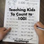 Teaching Kids to Count to 100