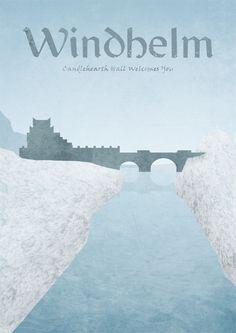 Limited edition print inspired by The Elder Scrolls V: Skyrim     #gaming #skyrim